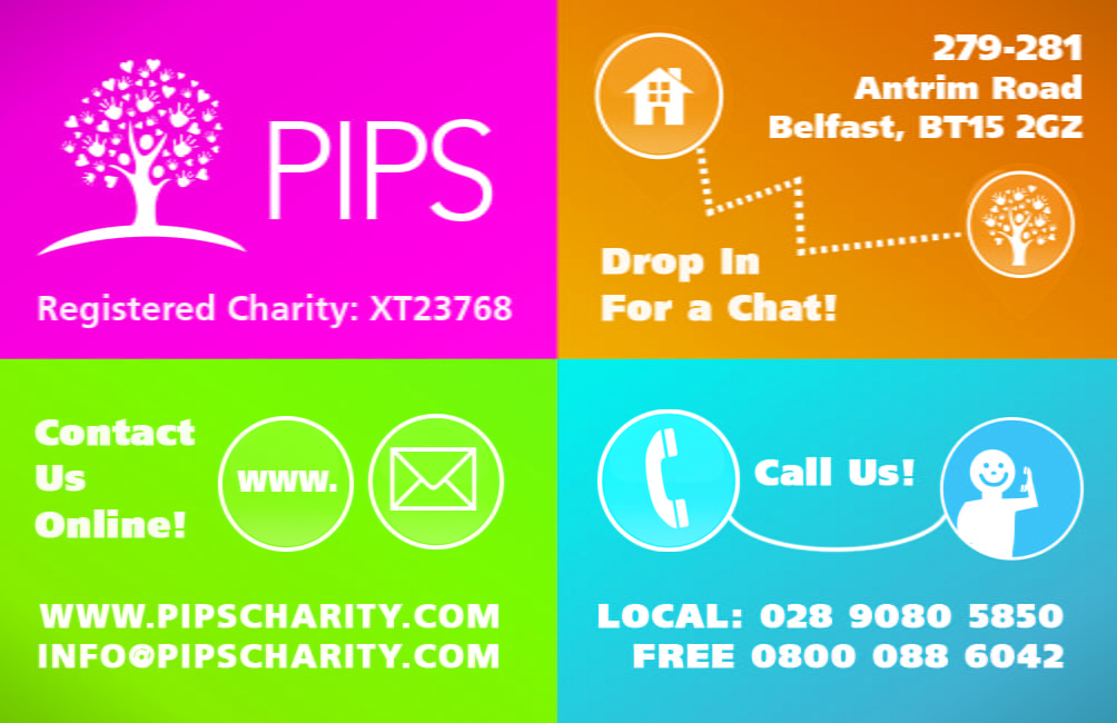PIPS Charity Contact Information